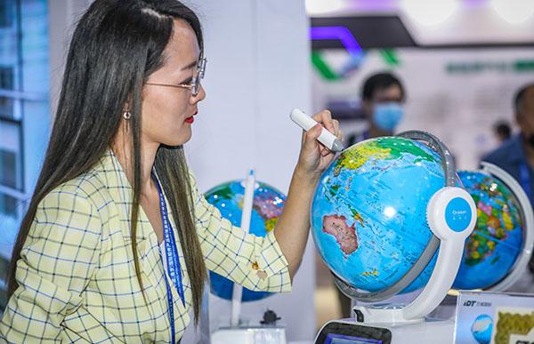 南大苏富特携前沿尖端科技产品 亮相南京软博会